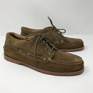 Sperry Top-Sider Suede Boat Show Sz 13 - 10770909